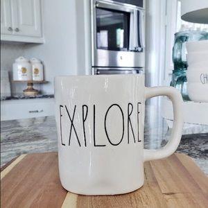 "Rae Dunn ""EXPLORE"" mug"